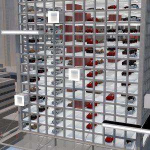 Die Stadt der Zukunft, effizient und flexibel durch Fluide Logistik