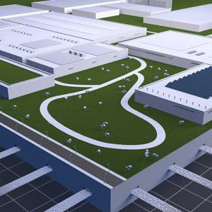 Die Infrastruktur der Zukunft, basierend auf Fluider Logistik