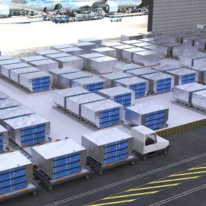 Fluide Logistik im Einsatz: Cargo Handling